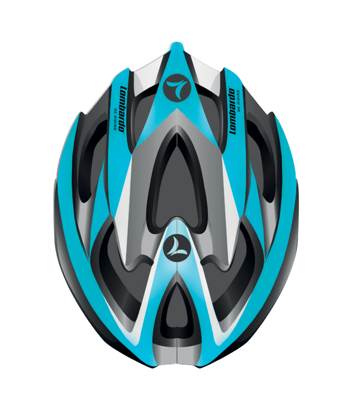 Mtb Helmet Light Blue
